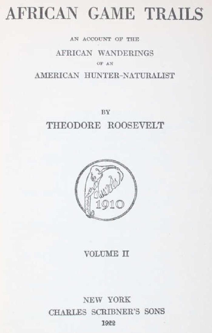 African Game Trails by Theodore Roosevelt - 8