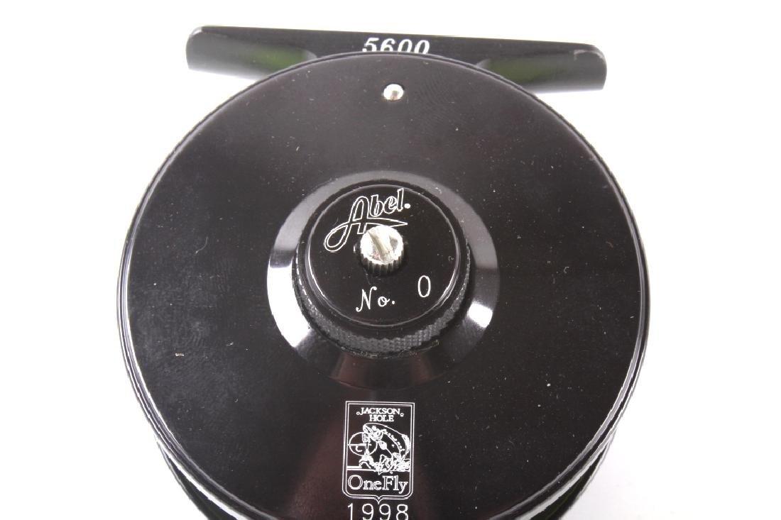 Abel No. 0 Custom Fly Fishing Reel - 4
