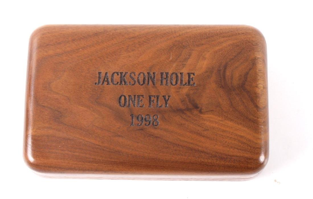 Brodin Jackson Hole One Fly Custom Net and Fly Box - 6
