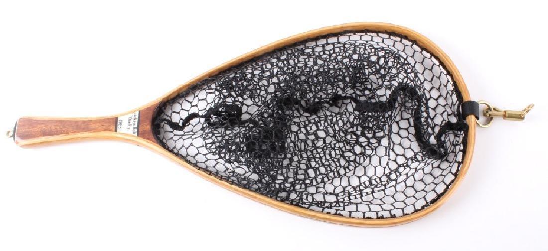 Brodin Jackson Hole One Fly Net and Walnut Fly Box - 2