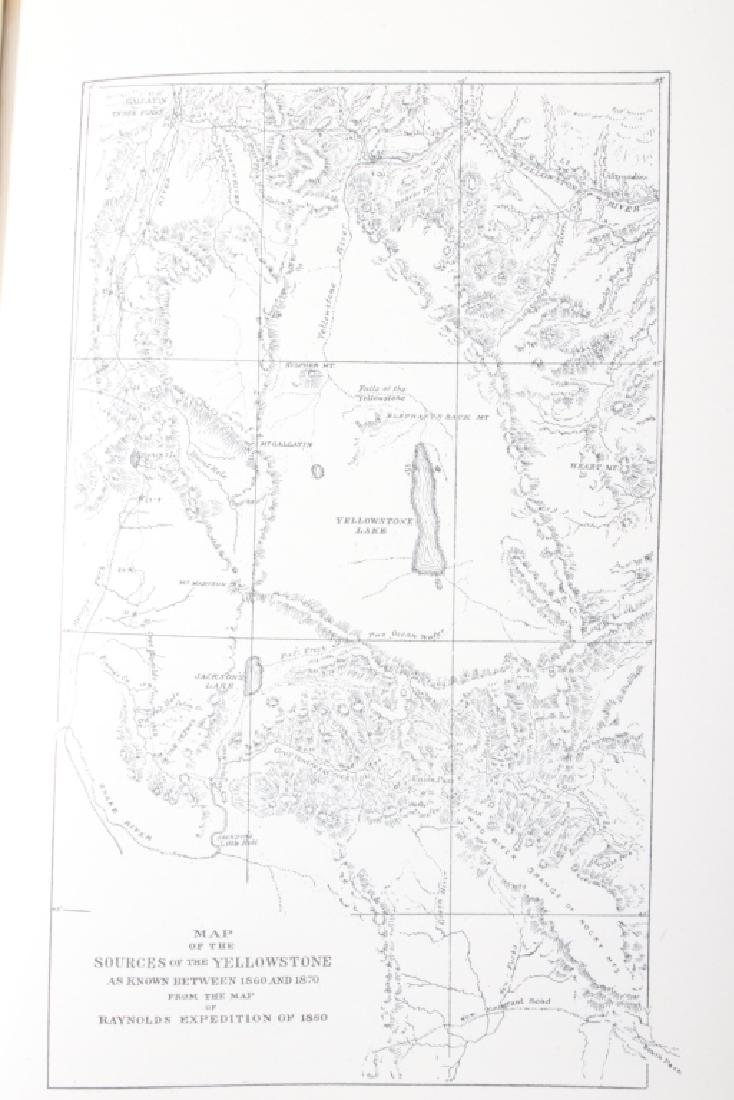 The Yellowstone by Chittenden 1895 - 10
