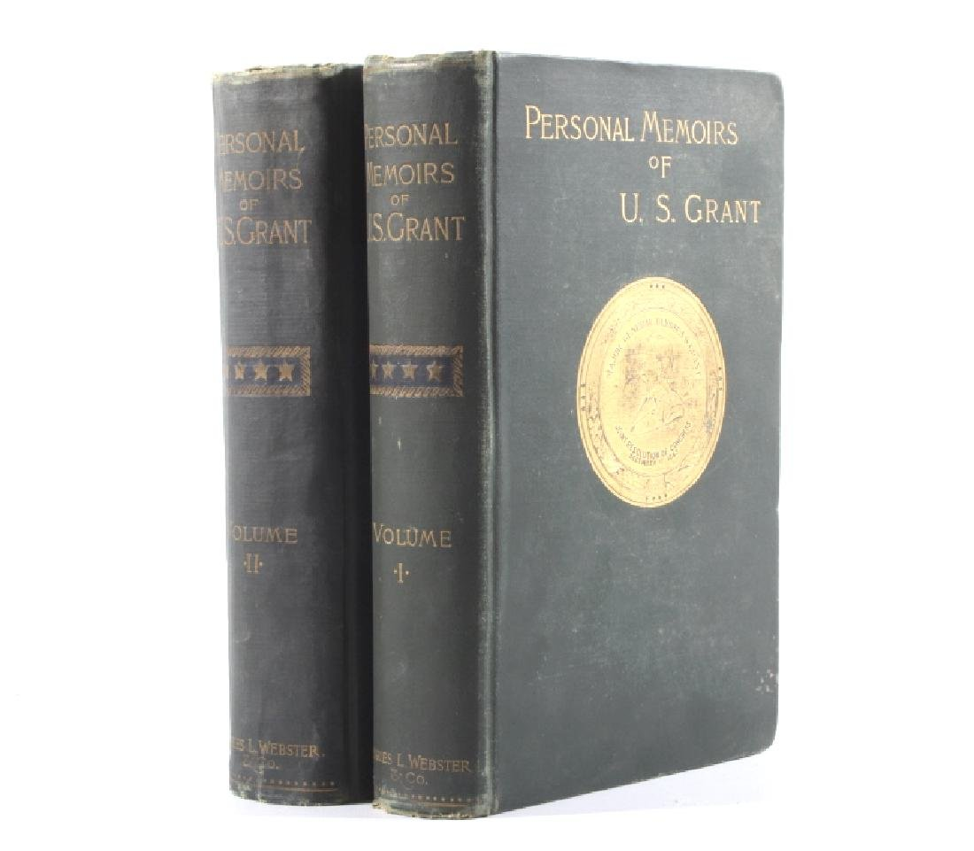 Personal Memoirs of U.S. Grant First Edition