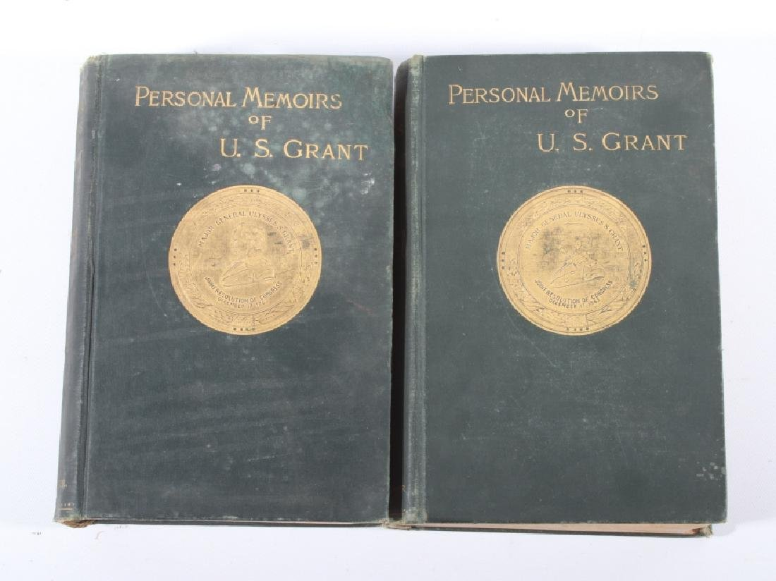 Personal Memoirs of U.S. Grant First Edition - 2