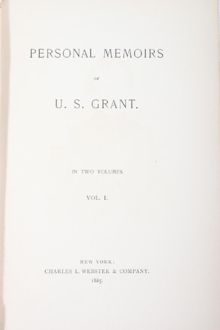 Personal Memoirs of U.S. Grant First Edition - 3