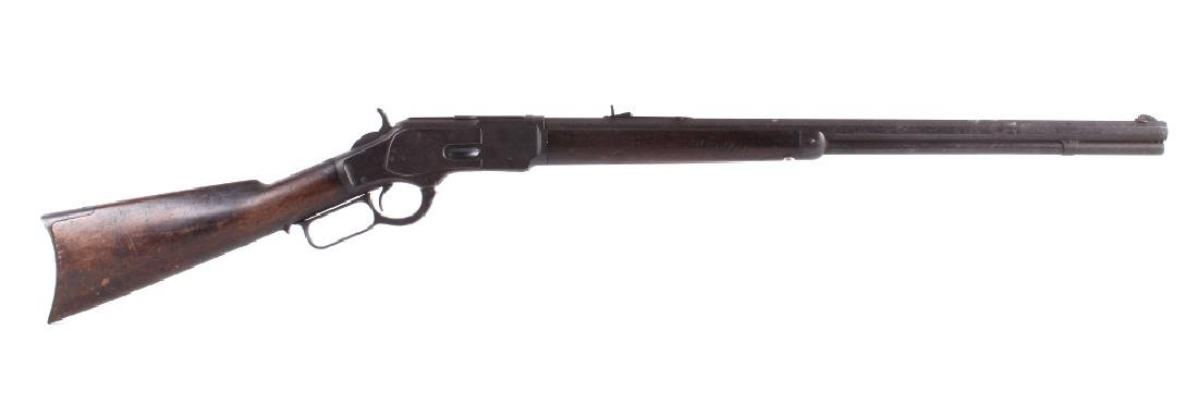 Famed Winchester Model 1873 .32WCF Repeating Rifle - 2