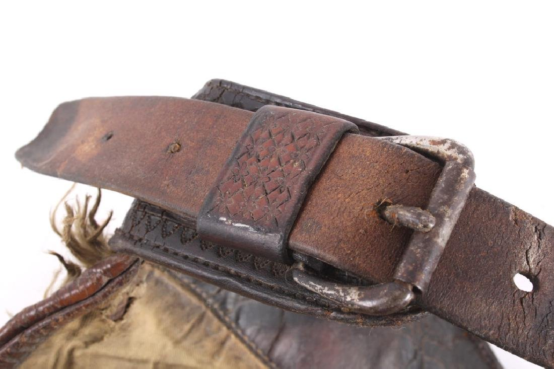 Miles City Saddlery Tooled Wooly Chaps - 7
