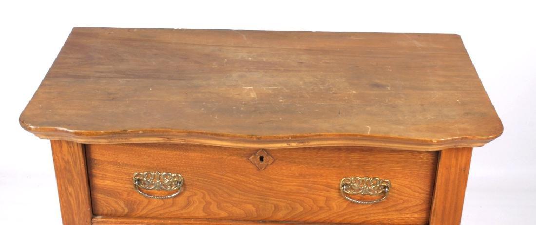 Dark Oak Wooden Dresser - 10