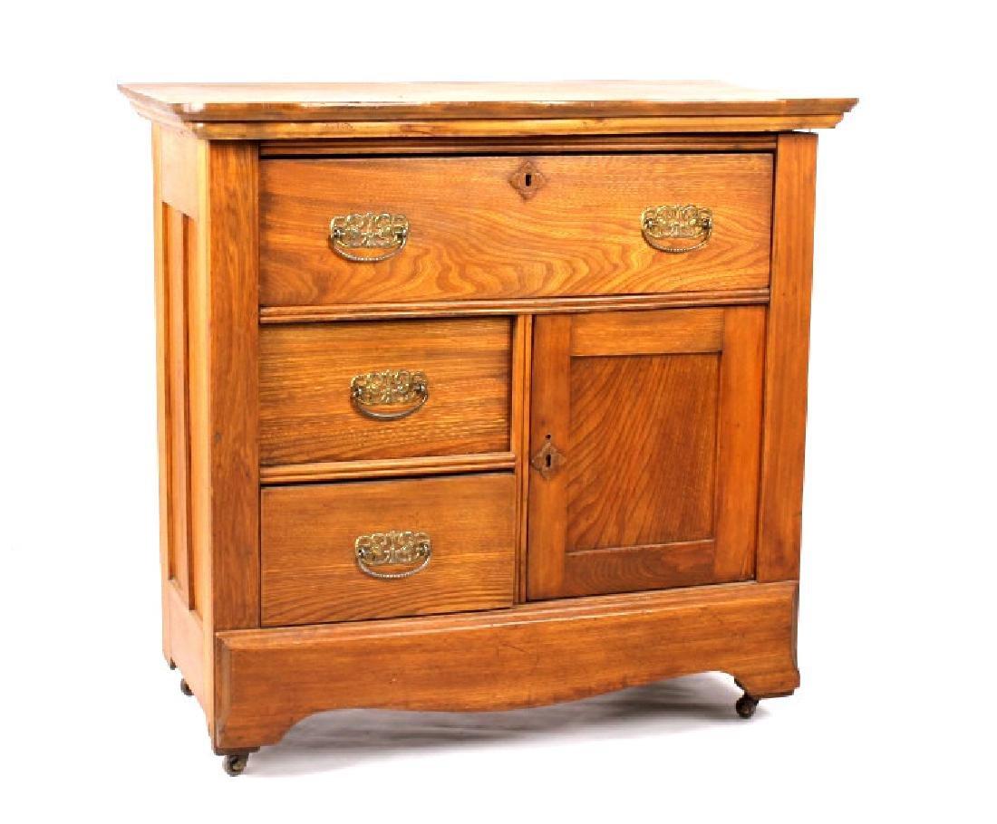 Dark Oak Wooden Dresser