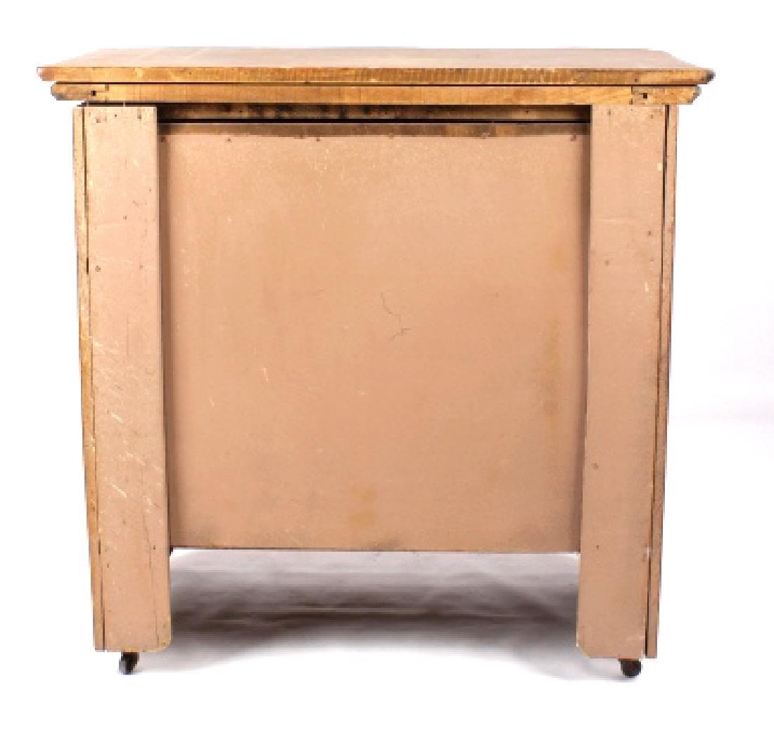 Dark Oak Wooden Dresser - 8