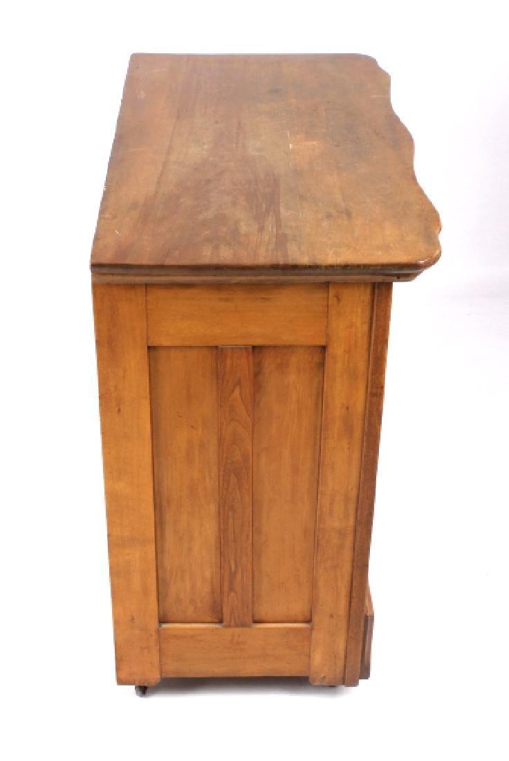 Dark Oak Wooden Dresser - 9