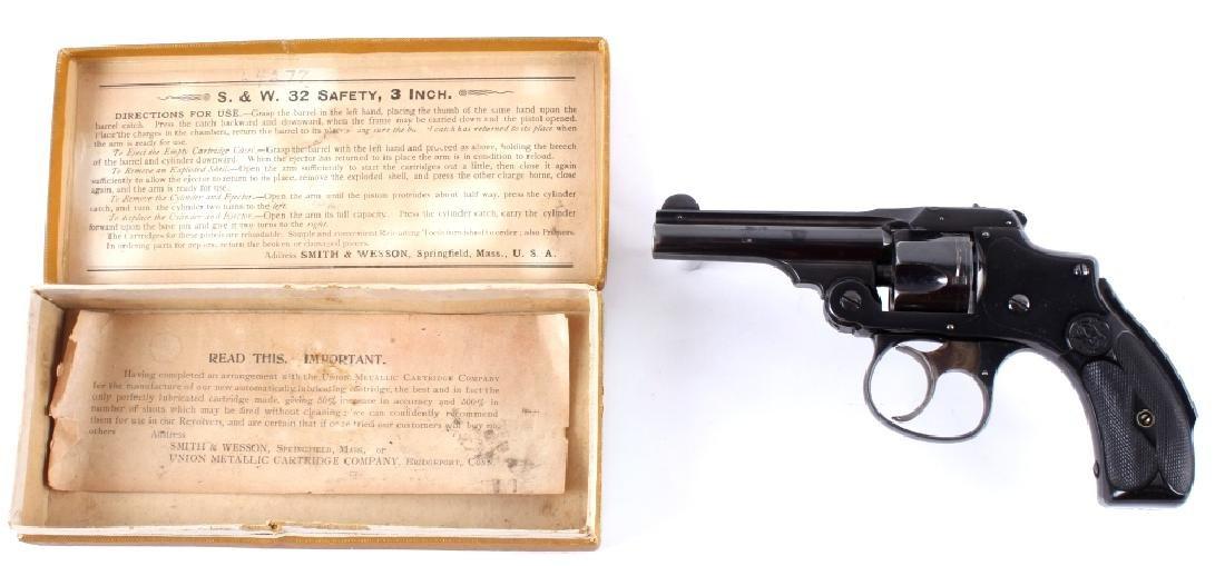 Smith & Wesson .32 Safety Hammerless Revolver - 2