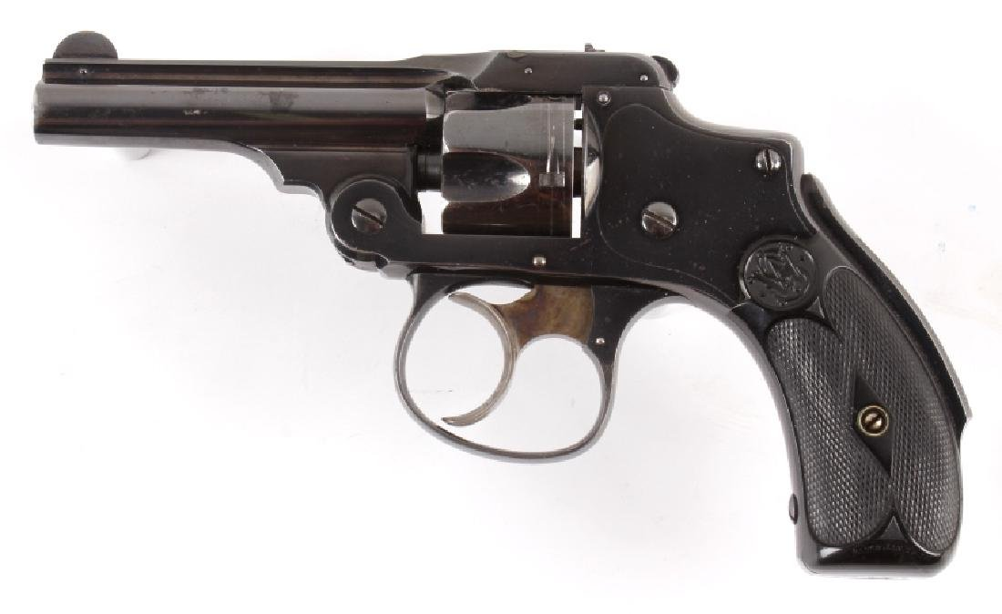 Smith & Wesson .32 Safety Hammerless Revolver - 3