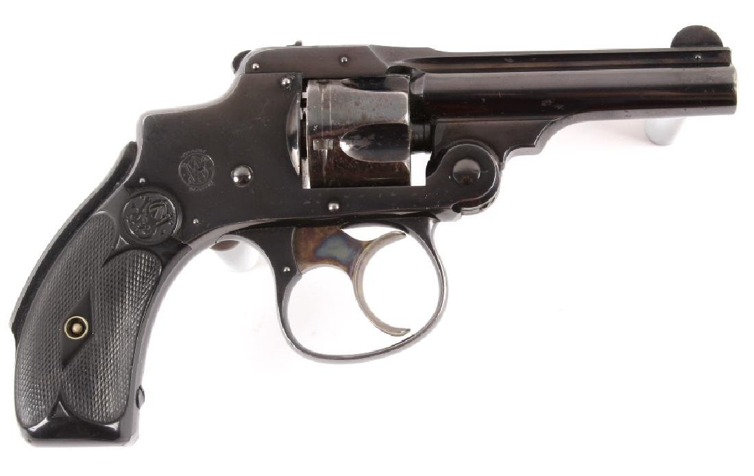 Smith & Wesson .32 Safety Hammerless Revolver - 7