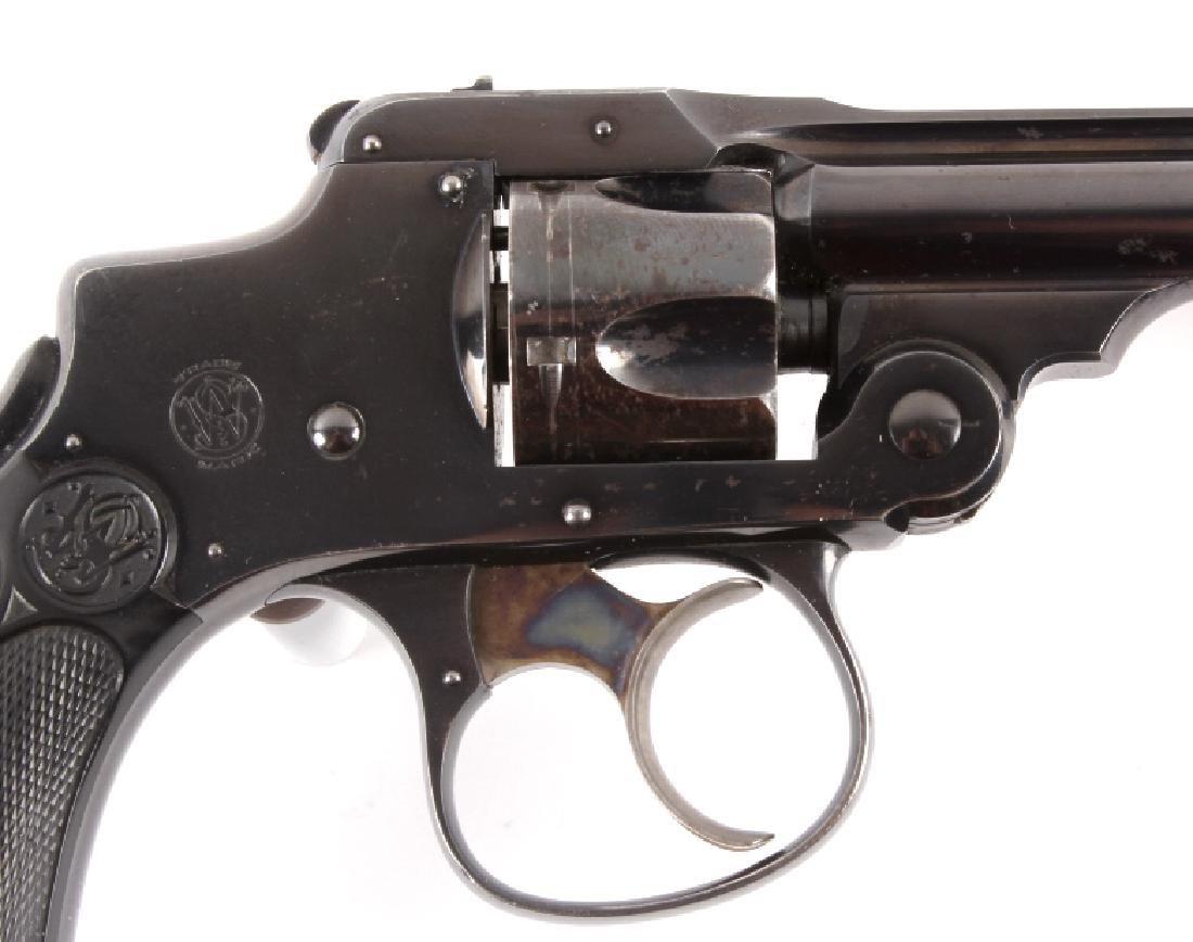Smith & Wesson .32 Safety Hammerless Revolver - 9