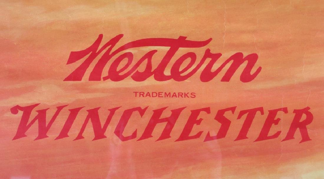 Original 1955 Western-Winchester Whitetail Poster - 5