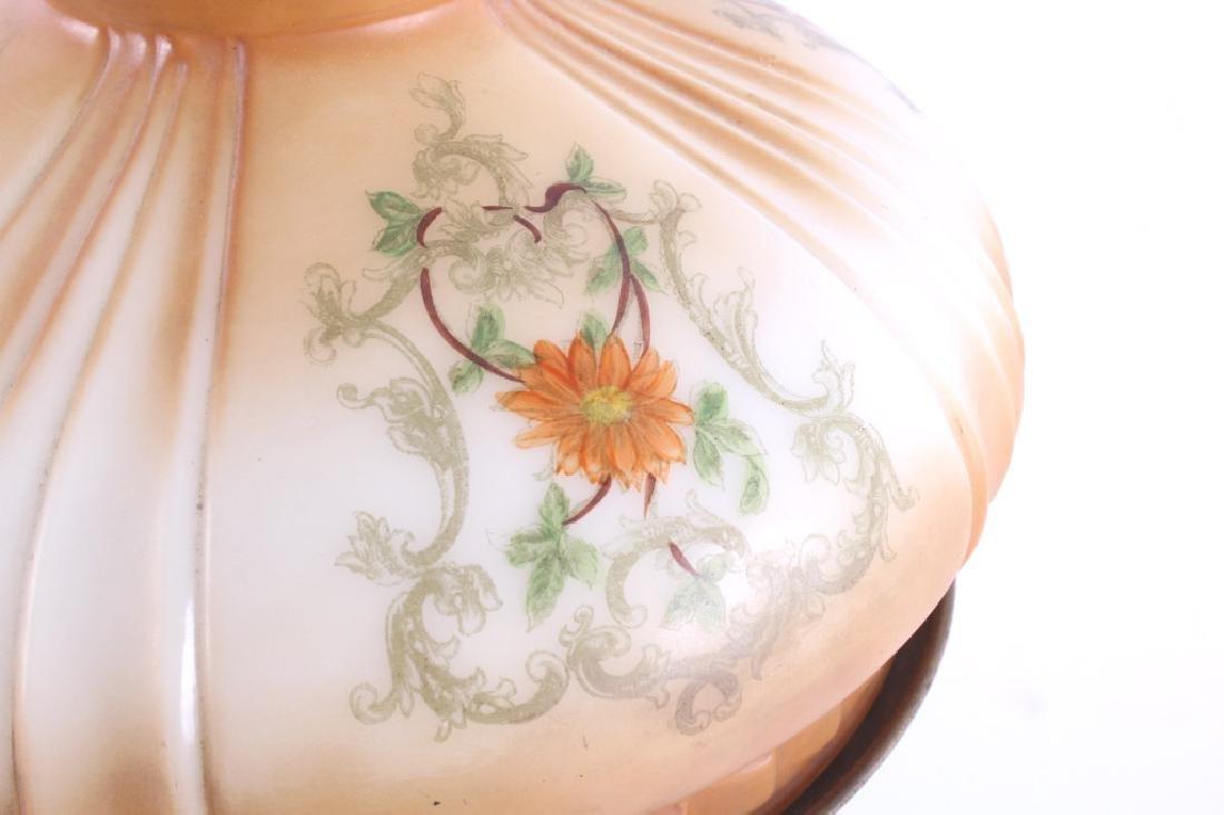 Victorian Full Metal Kerosene Lamp c. 1892- - 2
