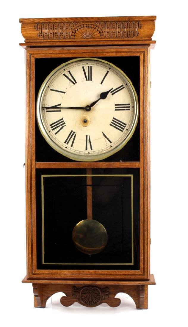Ingraham Western Union Wall Clock