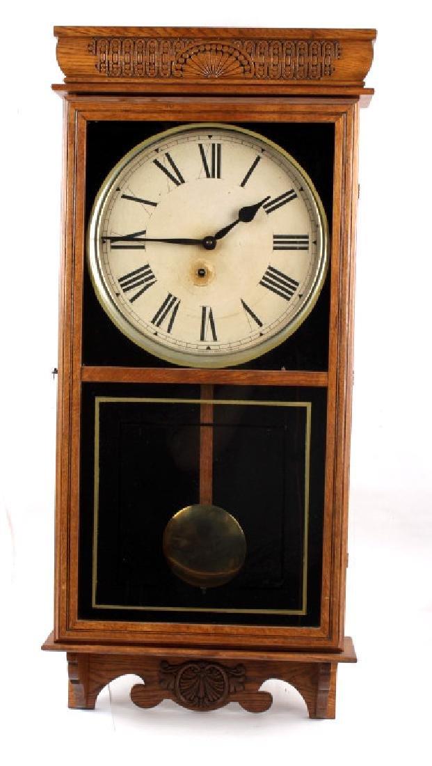 Ingraham Western Union Wall Clock - 2