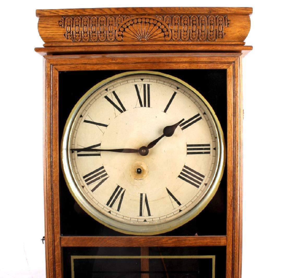 Ingraham Western Union Wall Clock - 3