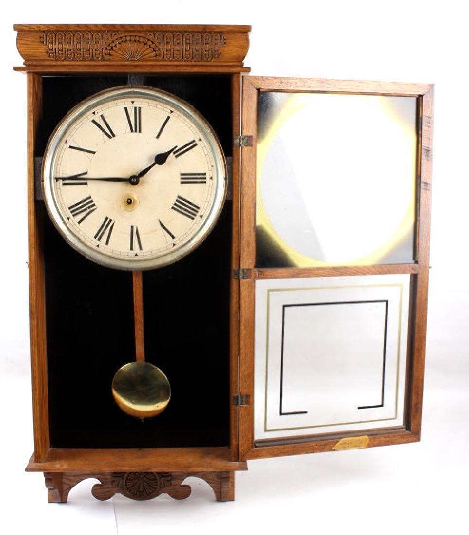 Ingraham Western Union Wall Clock - 7