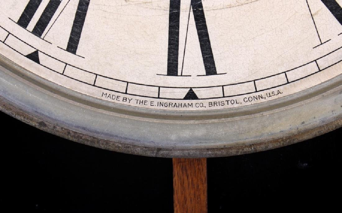 Ingraham Western Union Wall Clock - 8