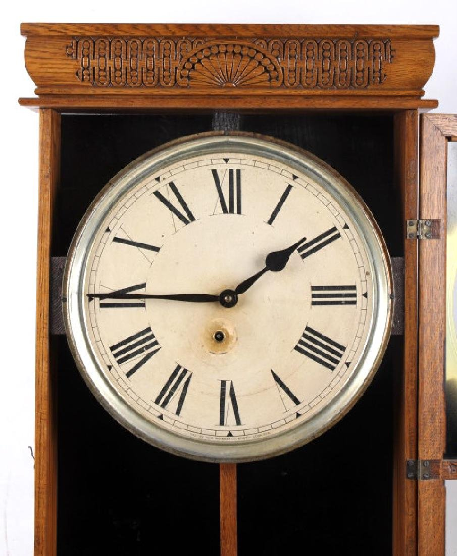 Ingraham Western Union Wall Clock - 9