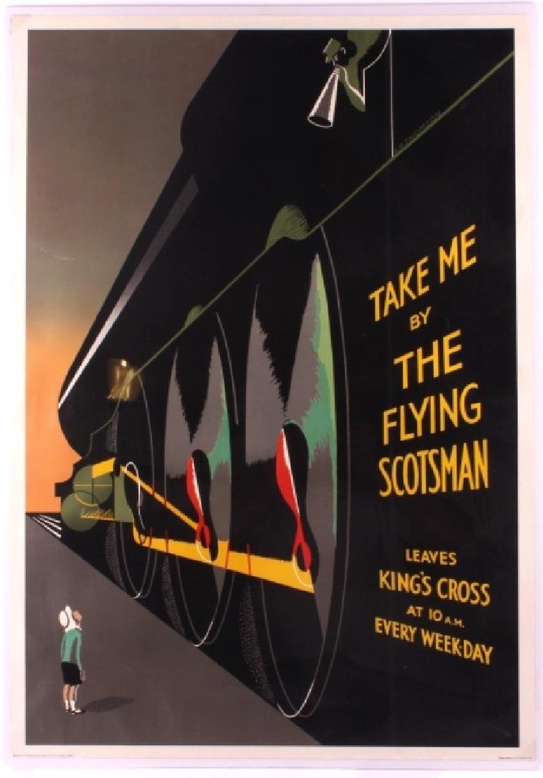 Flying Scotsman Lithograph by A.R. Thomson