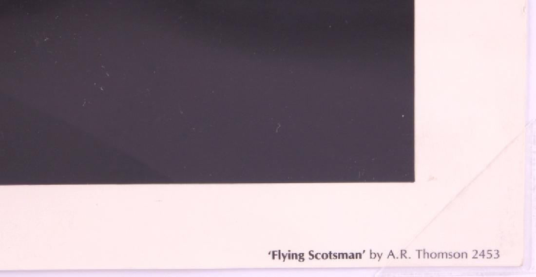 Flying Scotsman Lithograph by A.R. Thomson - 7