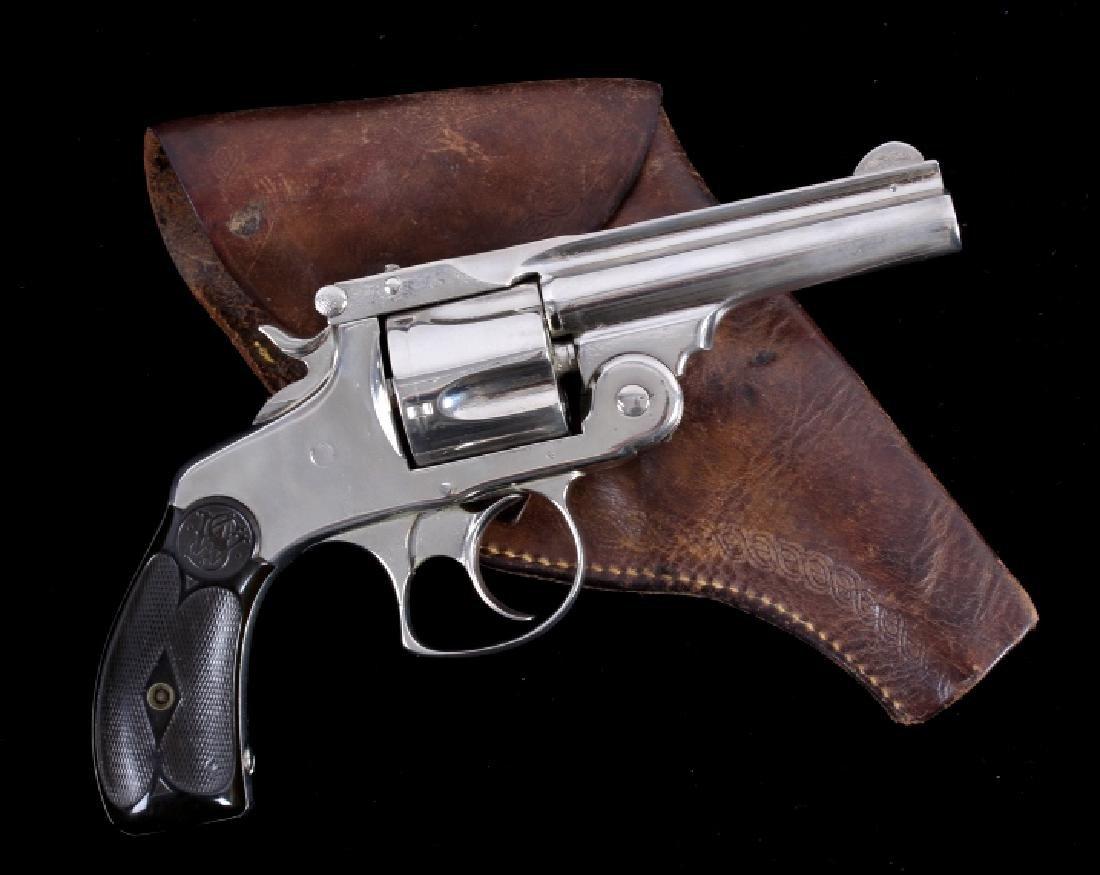 Smith & Wesson 4th Model Top-Break .38 Revolver