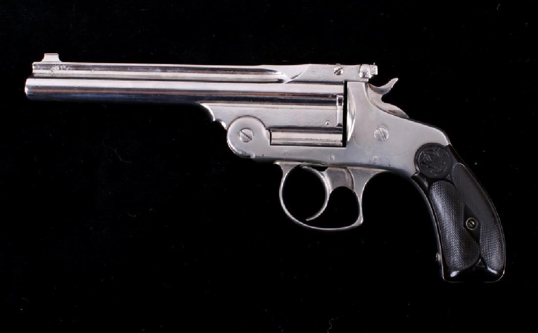 "S&W .38 Fourth Model Revolver Extra 6"" Barrel - 4"