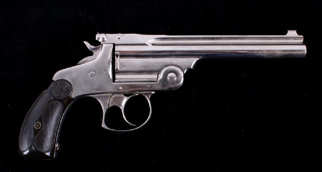 "S&W .38 Fourth Model Revolver Extra 6"" Barrel - 5"