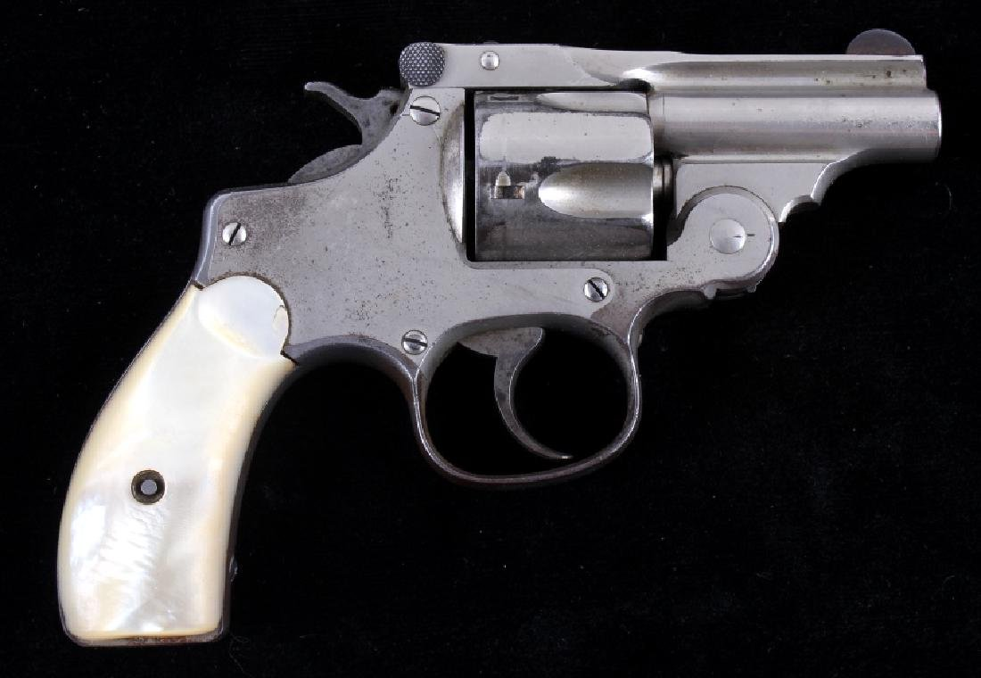 Smith & Wesson .38 Perfected Pearl Grip Revolver
