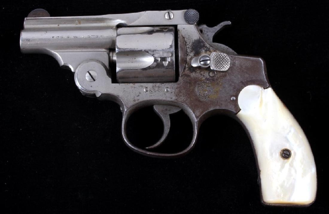 Smith & Wesson .38 Perfected Pearl Grip Revolver - 2