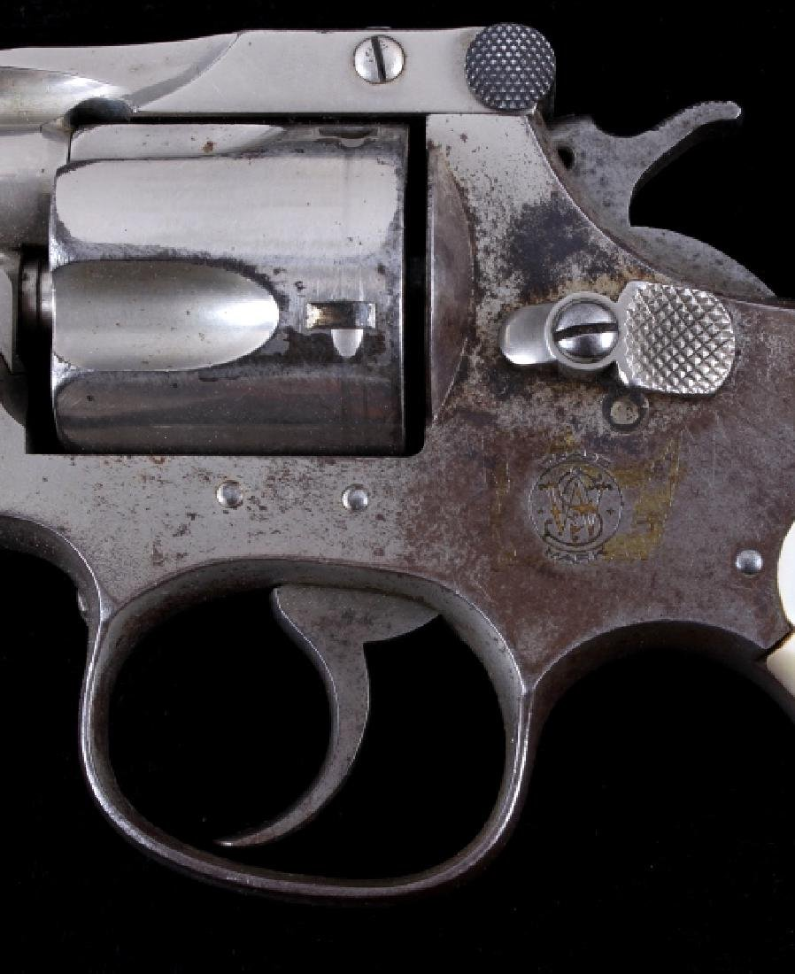 Smith & Wesson .38 Perfected Pearl Grip Revolver - 4