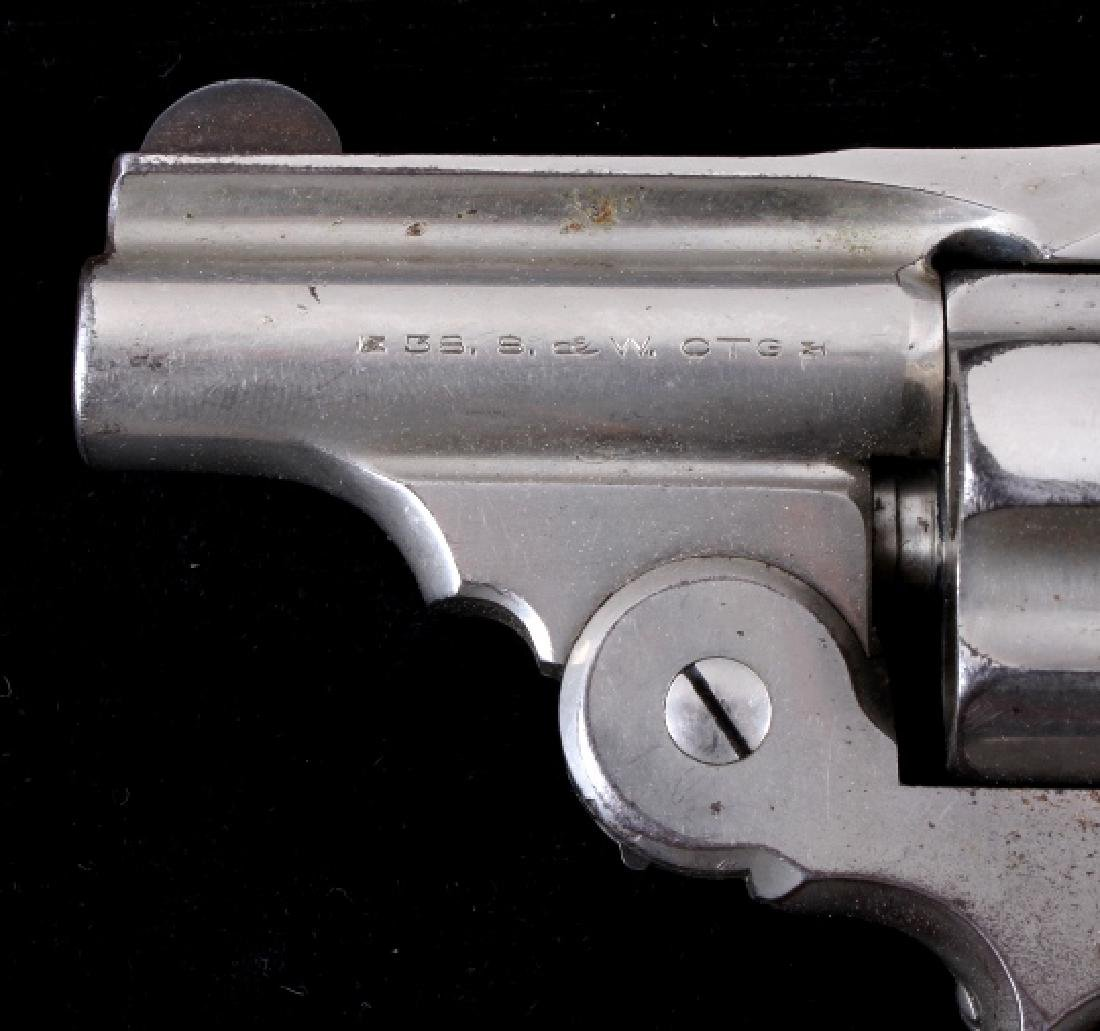 Smith & Wesson .38 Perfected Pearl Grip Revolver - 5