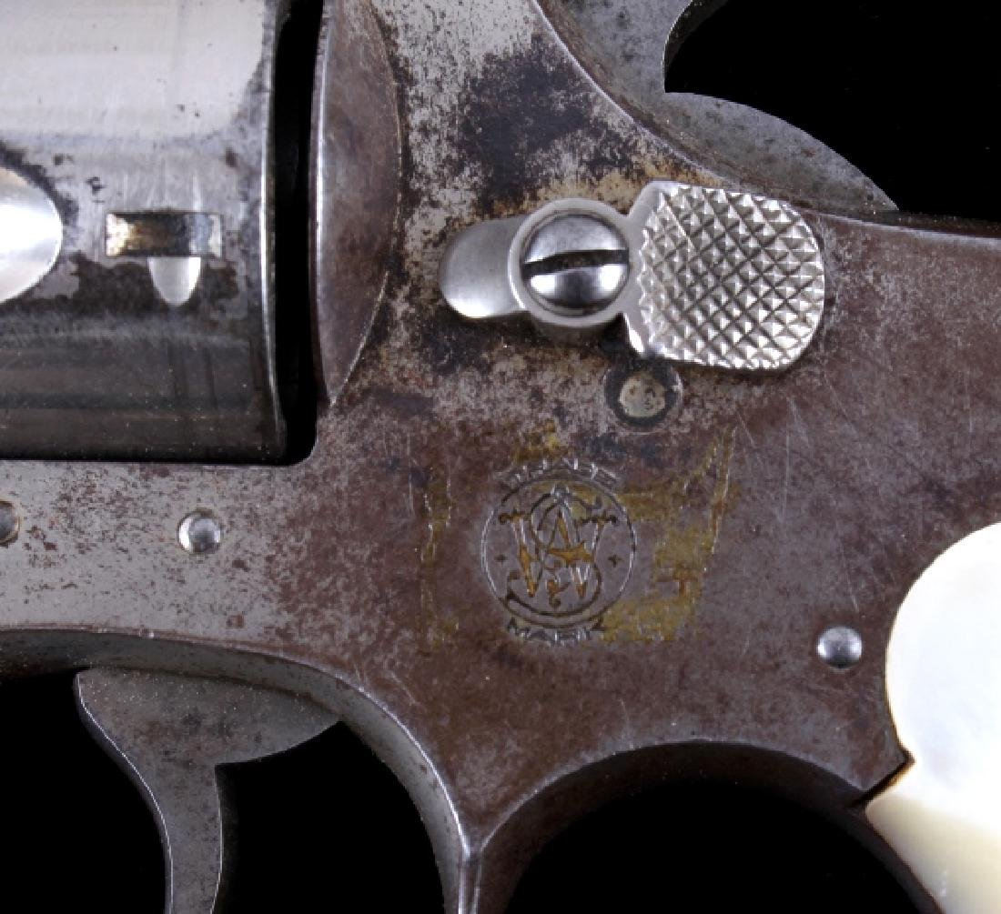 Smith & Wesson .38 Perfected Pearl Grip Revolver - 6