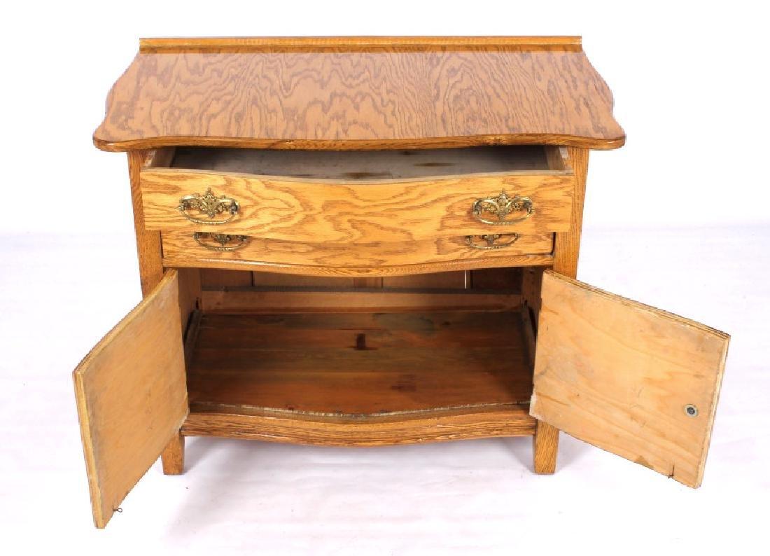 Antique Light Oak Dresser - 2