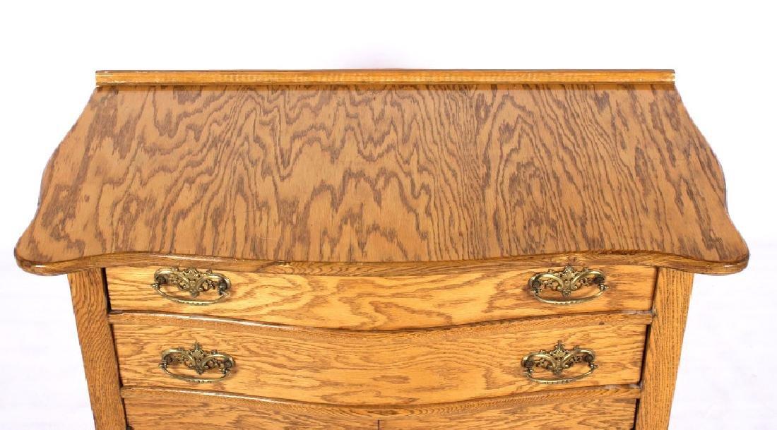 Antique Light Oak Dresser - 4