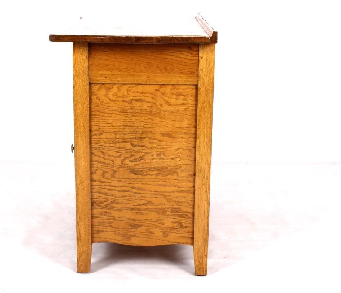 Antique Light Oak Dresser - 5