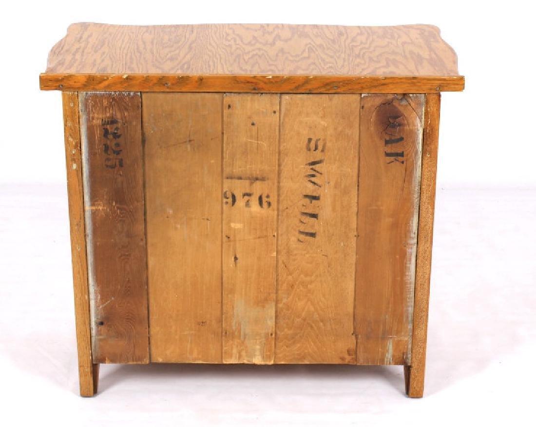 Antique Light Oak Dresser - 6