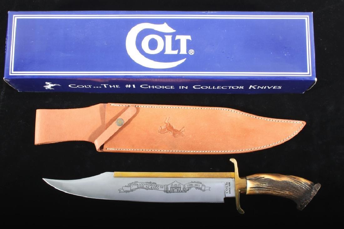 Colt Alamo 175th Anniversary Collectors Knife