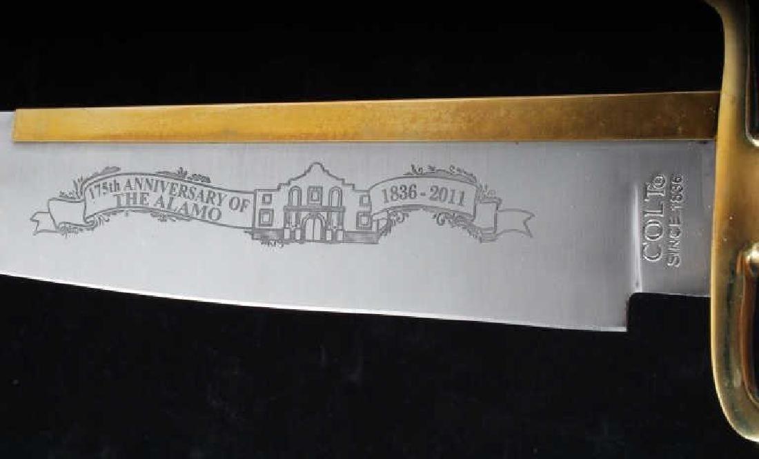 Colt Alamo 175th Anniversary Collectors Knife - 3