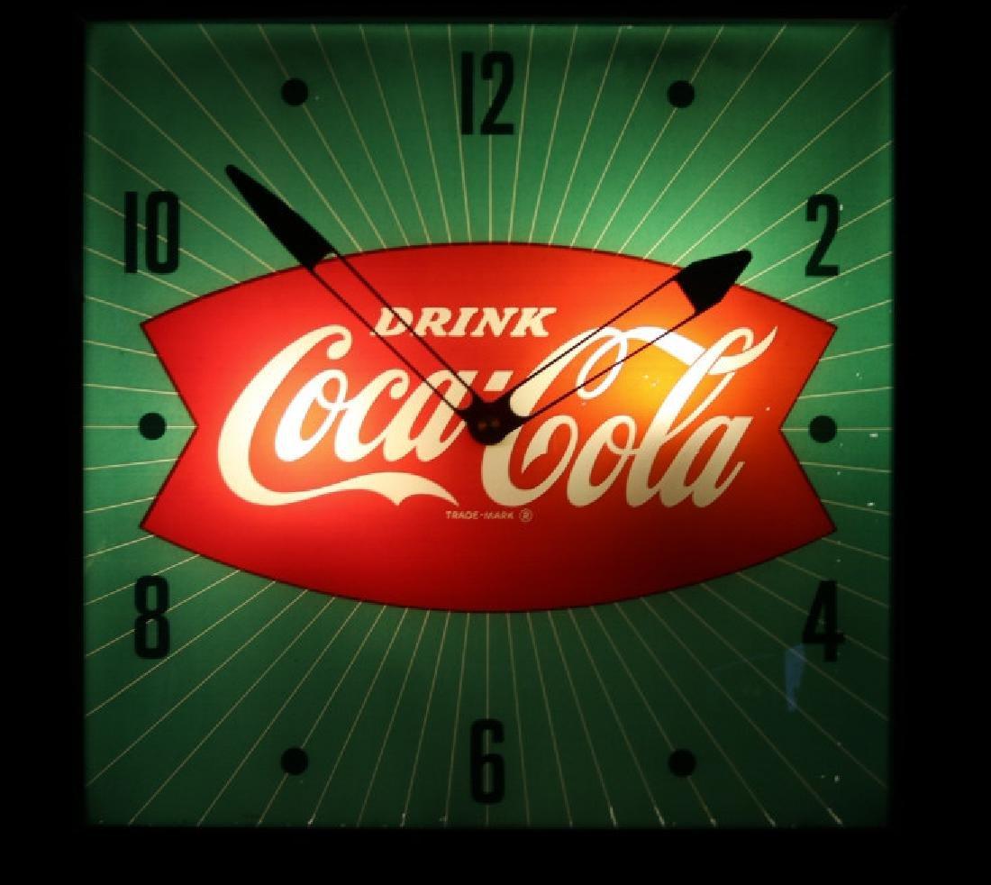 Vintage Coca Cola Advertising Clock - 2