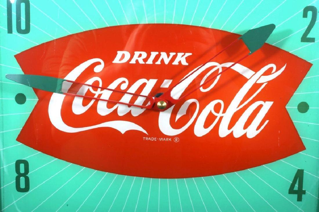 Vintage Coca Cola Advertising Clock - 3