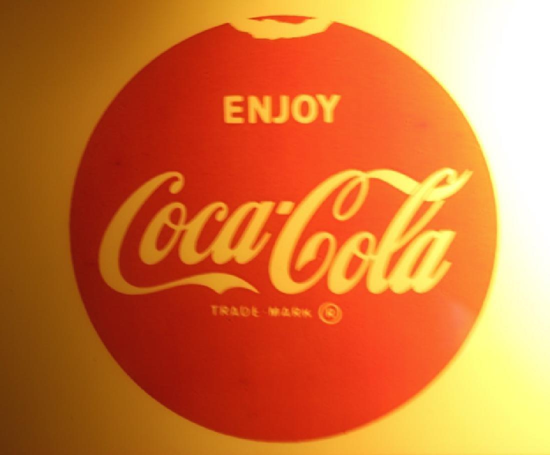 Vintage Coca-Cola Lighted Advertising Clock - 4