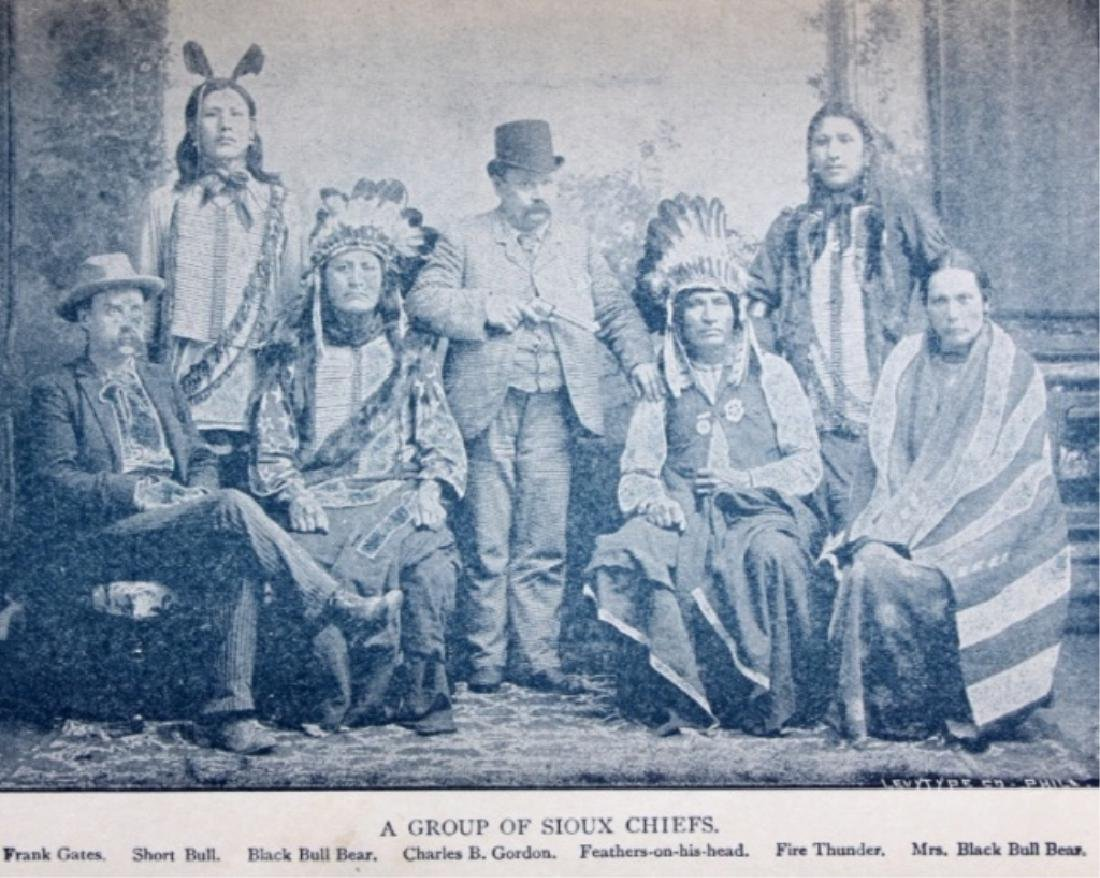 Sitting Bull and the Indian War 1st Edition 1891 - 6