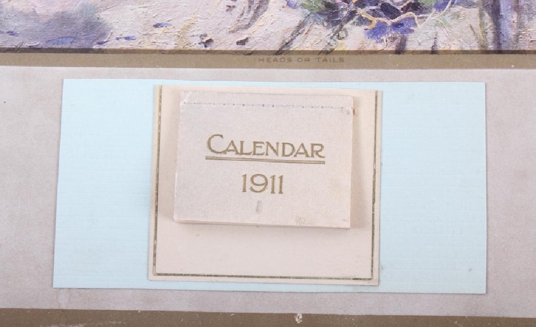 C M Russell Goodridge Lumber 1911 Calendar - 3