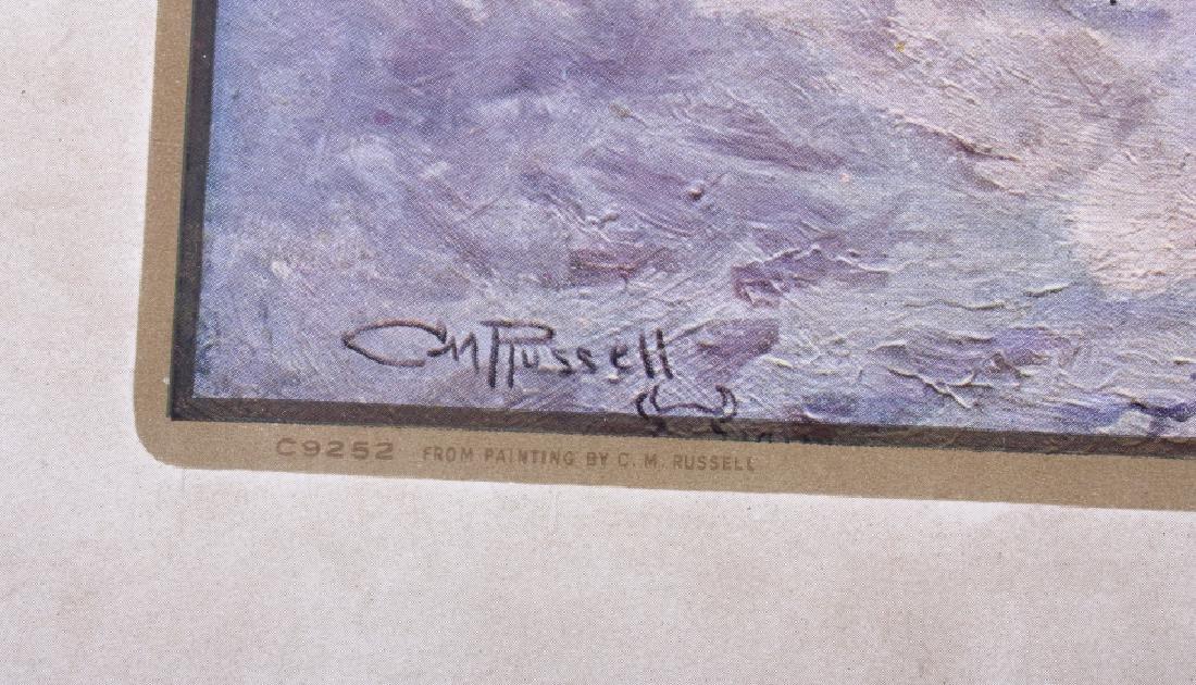 C M Russell Goodridge Lumber 1911 Calendar - 6