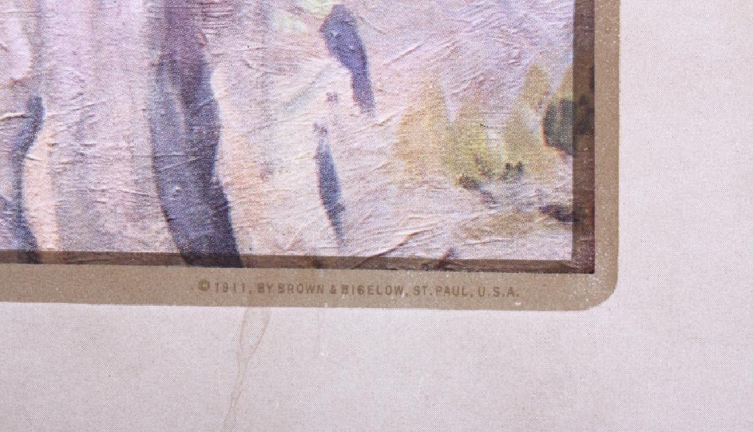 C M Russell Goodridge Lumber 1911 Calendar - 7