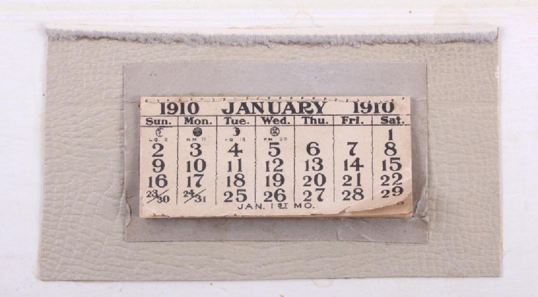C M Russell Goodridge Lumber Co. 1910 Calendar - 6